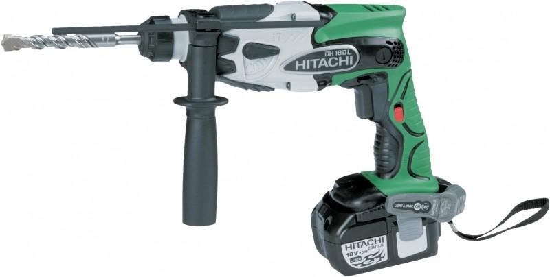 Аккумуляторный перфоратор Hitachi DH18DL