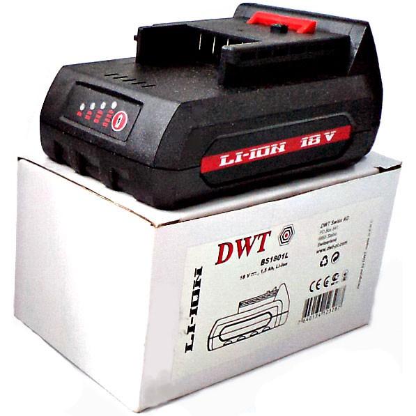 Литий-ионный аккумулятор DWT BS-1801L