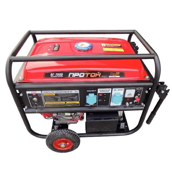 Бензиновый генератор Протон БГ-7802