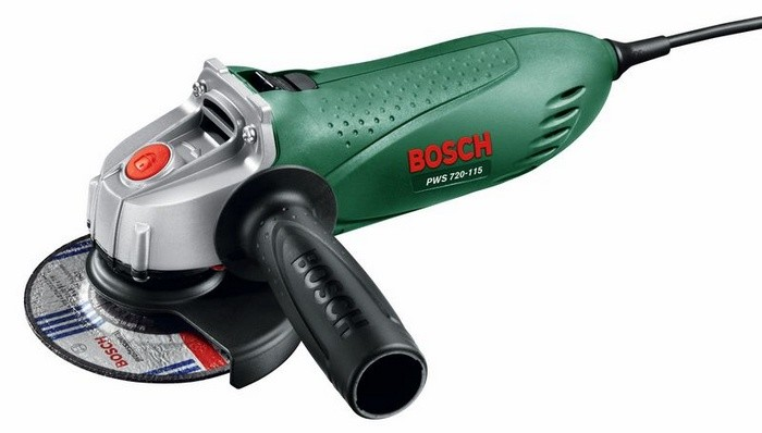 Угловая шлифмашина (болгарка) Bosch PWS 720-115