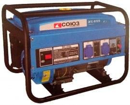 Бензиновый генератор Союз ЭГС-8725
