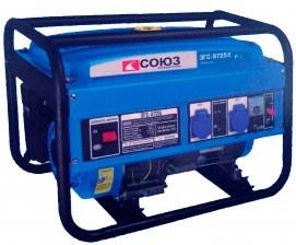 Бензиновый генератор Союз ЭГС-8725Е