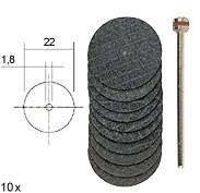 Армированные отрезные диски Proxxon 28808