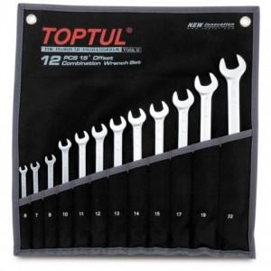 Набор комбинированных ключей Toptul Hi-Performance 12 ед