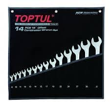 Набор комбинированных ключей Toptul Hi-Performance 14 ед
