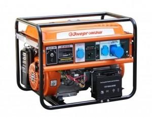 Бензиновый генератор Энергомаш ЭГ-8755Э