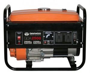 Бензиновый генератор DAEWOO GDA 2500