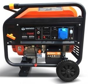 Бензиновый генератор DAEWOO GDA 7500Е