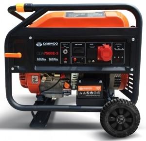 Бензиновый генератор DAEWOO GDA 7500E-3 (трехфазный)
