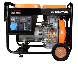 Бензиновый генератор DAEWOO DDAE 6100XE