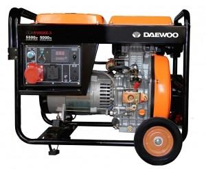 Бензиновый генератор DAEWOO DDAE 6100XE-3 (трехфазный)