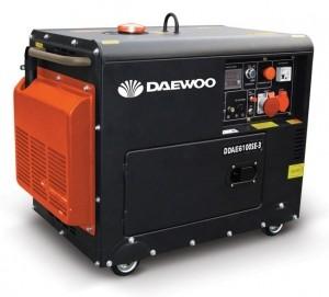 Дизельный генератор DAEWOO DDAE 6100SE-3 (трехфазный)