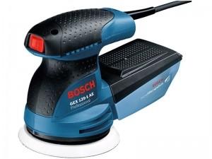 Эксцентриковая шлифмашина Bosch GEX 125-1 AE (чемодан)