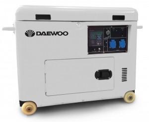 Дизельный генератор DAEWOO DDAE 7000SE-3 (трехфазный)