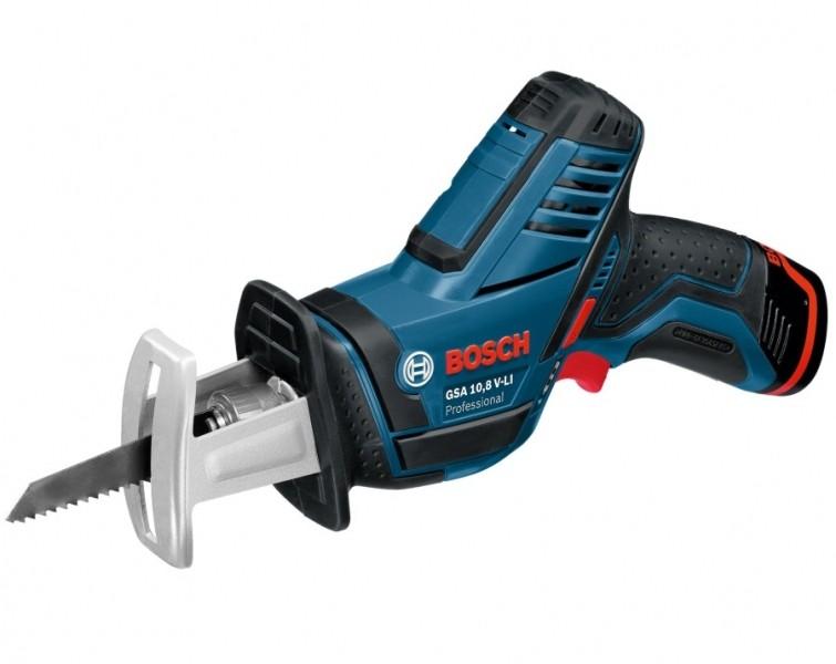 Аккумуляторная сабельная пила Bosch GSA 10,8 V-LI L-BOXX