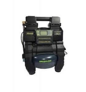 Аккумуляторный гибридный компрессор Титан PC8621B-CORE ACDC