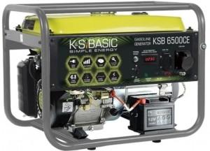 Генератор бензиновый Konner&Sohnen BASIC KSB 6500 СЕ