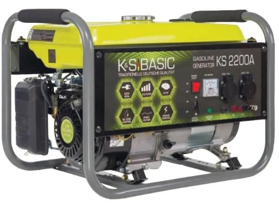Бензиновый генератор Konner&Sohnen BASIC KS 2200A - Бензиновый генератор Konner&Sohnen BASIC KS 2200A