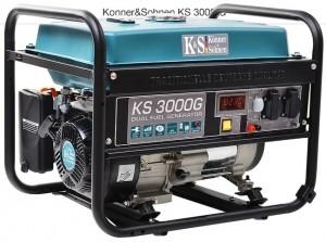Двухтопливный генератор Konner & Sohnen KS 3000G