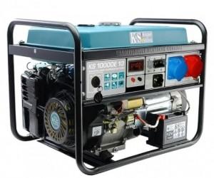 Двухтопливный генератор Konner&Sohnen KS 10000E-1/3 ГАЗ-БЕНЗИН