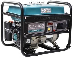Двухтопливный генератор Konner&Sohnen KS 7000 ГАЗ-БЕНЗИН