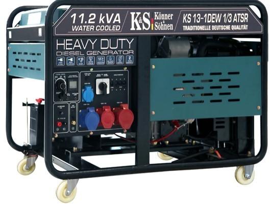 Дизельный генератор Konner&Sohnen KS 13-1DEW 1/3 ATSR (жидкостное охлаждение) - Дизельный генератор Konner&Sohnen KS 13-1DEW 1/3 ATSR (жидкостное охлаждение)
