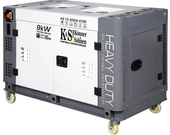 Дизельный генератор Konner&Sohnen KS 13-2DEW ATSR (жидкостное охлаждение) - Дизельный генератор Konner&Sohnen KS 13-2DEW ATSR (жидкостное охлаждение)