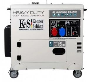 Дизельный генератор Konner&Sohnen KS 8200HDES-1/3 ATSR (EURO V)