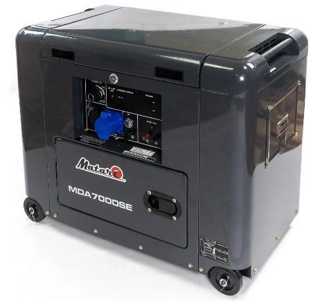Дизельный генератор Matari MDA7000SE - Дизельный генератор Matari MDA7000SE
