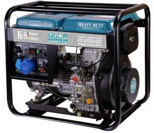 Дизельный генератор Konner&Sohnen KS 8102HDE (EURO II)