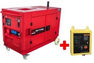 Генератор дизельный Vitals Professional EWI 10daps + блок ATS