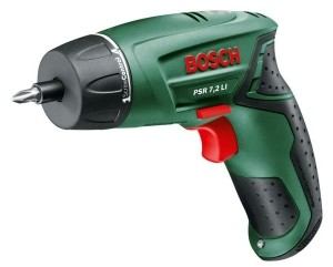 Аккумуляторный шуруповерт Bosch PSR 7,2 LI