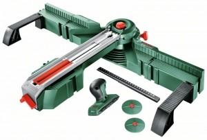 Установка для распиловки Bosch PLS 300 + плиткорез PTC 1