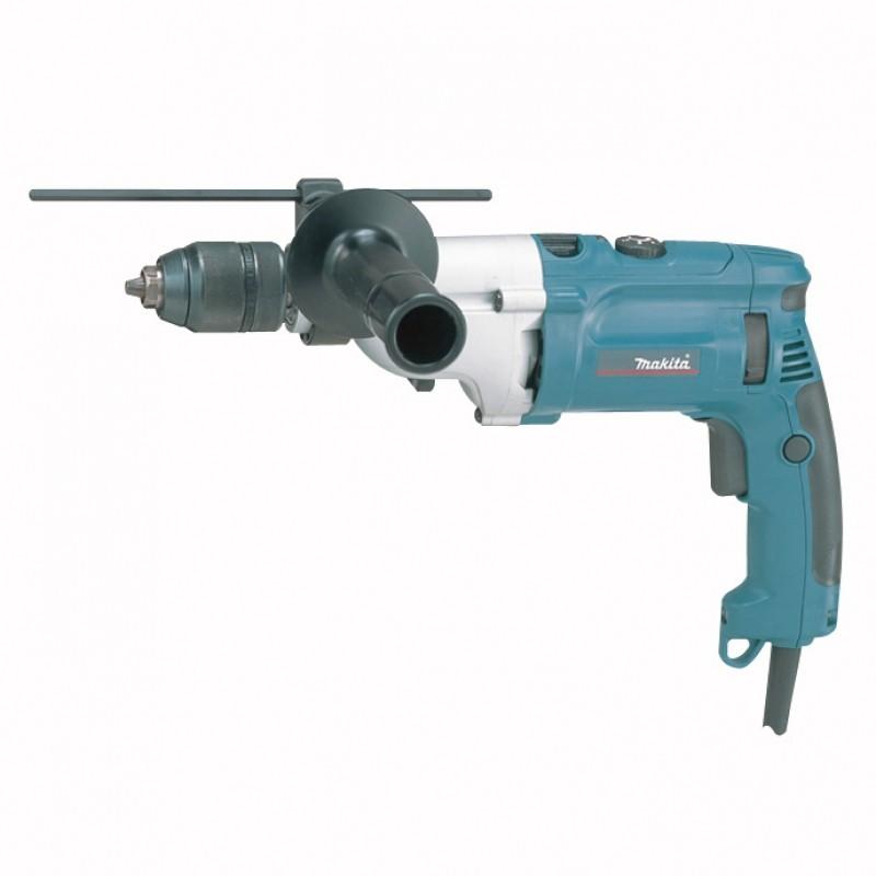 Ударная двухскоростная дрель Makita HP2071